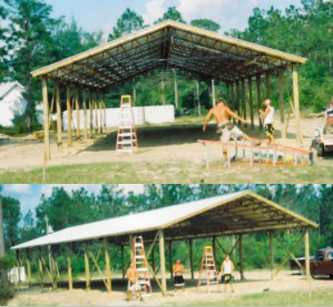 engineered barn kits with drawings florida panhandle salvage